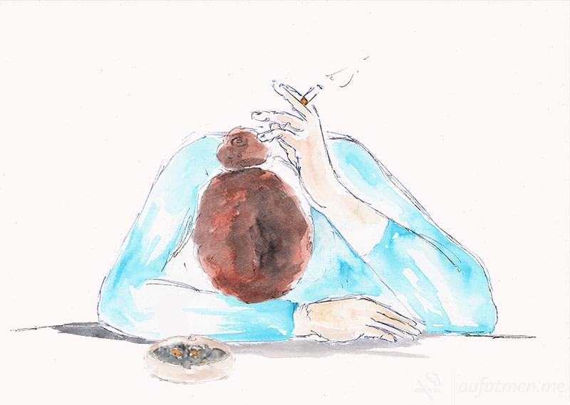 Mixed Media: Warum ist es so schwer mit dem Rauchen aufzuhören?