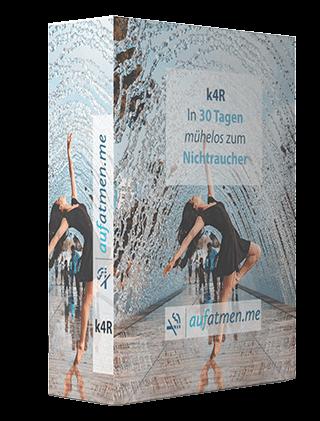 Bild: Die k4R-Methode. In 30 Tagen ohne Entzugsschmerzen zum Nichtraucher.
